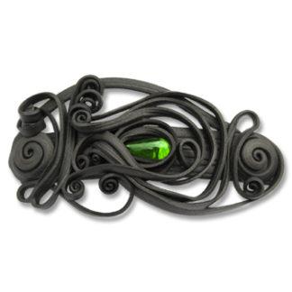 Haarspangen mit Glas - Clip