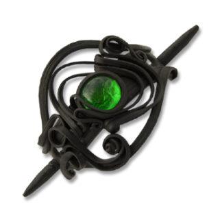 Haarspangen mit Glas - Stab