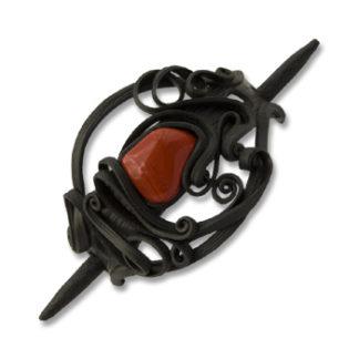 Haarspangen mit Stein - Stab