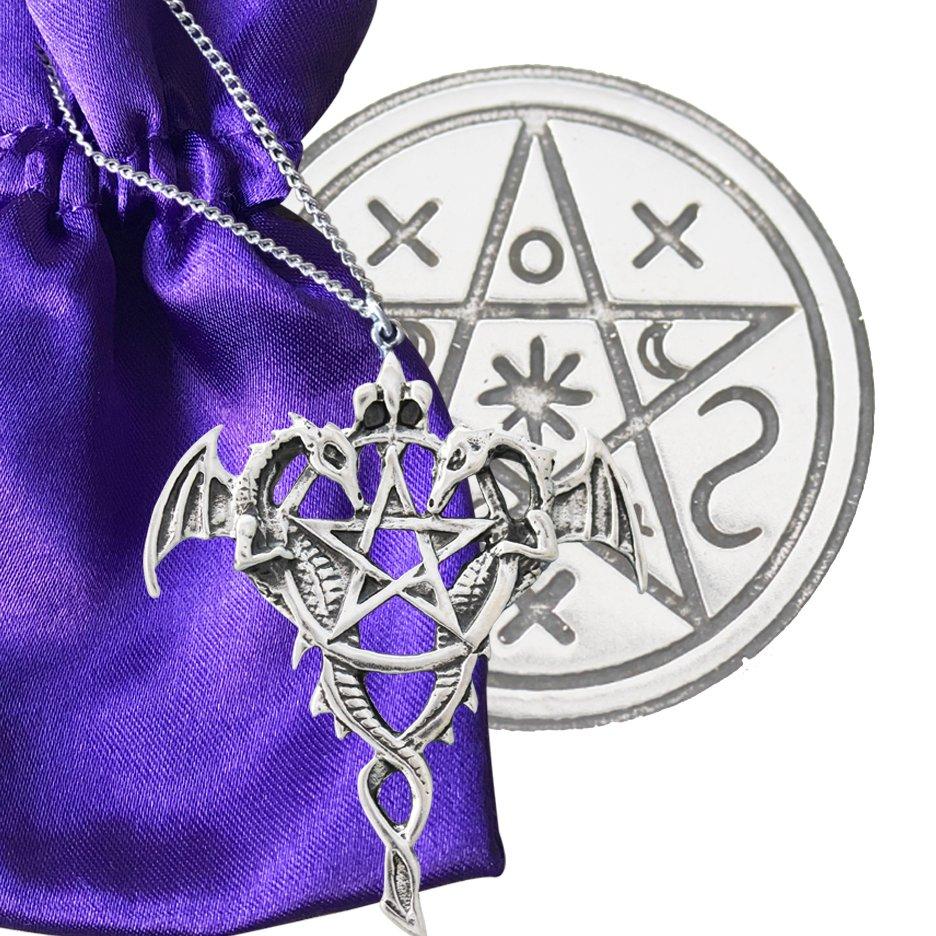 Siegel der Hexerei (versilbert)